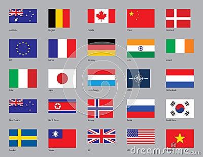 Twenty-Five Flags