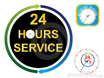 Twenty four hours service