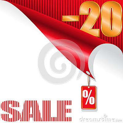Twenty-percent sale