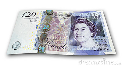 Twenty Pound Note Editorial Image