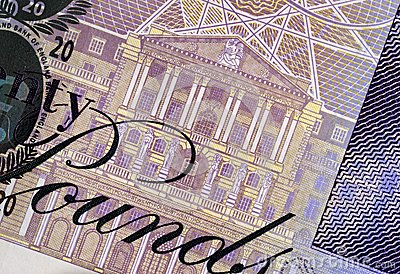 Twenty Pound Note Detail