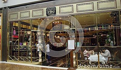 TWG tea shop Editorial Stock Photo