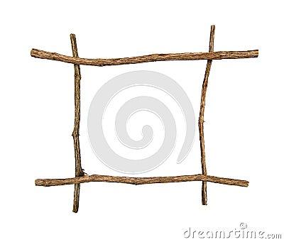 Twig frame.
