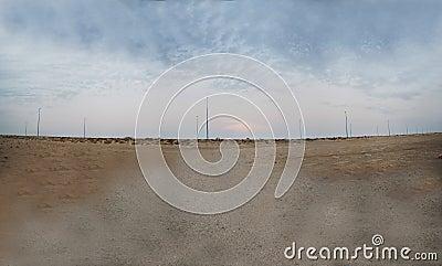 Twilight on the beach