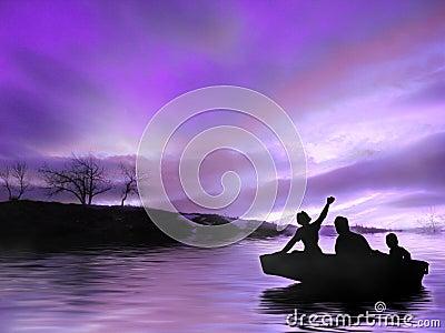 Twilight Fahrt