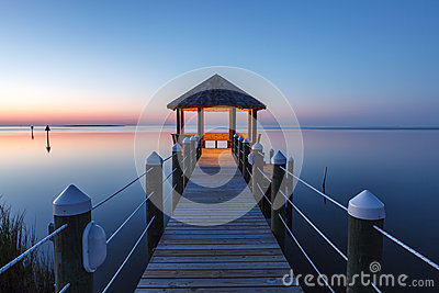 Twilight Fantasy Gazebo Outer Banks North Carolina