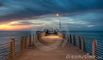 Twilight on the Pier