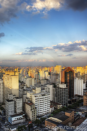 Twilight in Sao Paulo