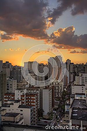 Twilight in Sao Paulo