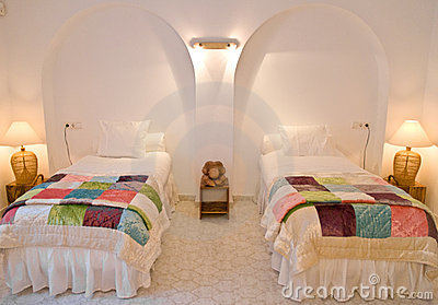 Twin Bedroom Interior