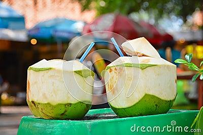Twin Coconuts