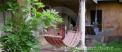 Twin hammocks