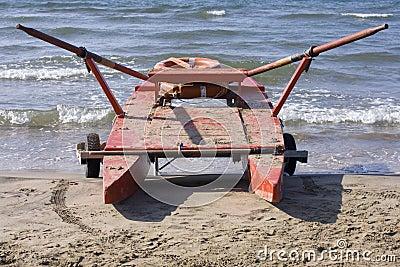 Twin-hulled rowboat