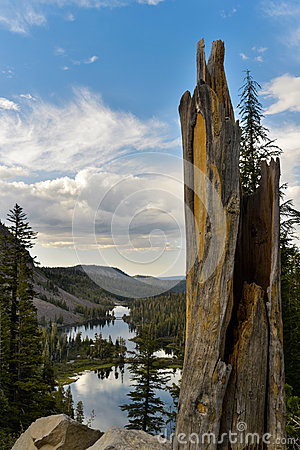 Twin Lake landscape