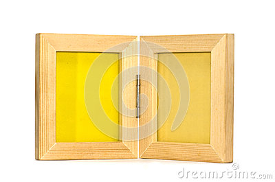 Twin picture frame