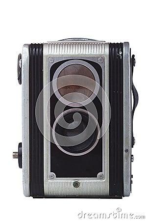 Twin reflex camera