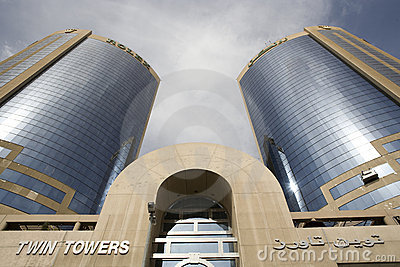 Twin Towers Editorial Image