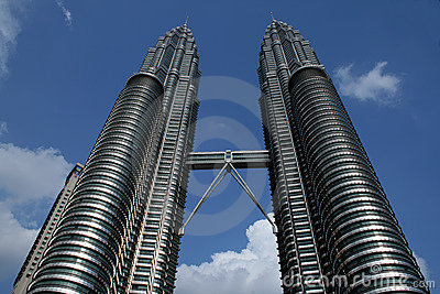 Twin towers Kuala Lumpur, Malaysia