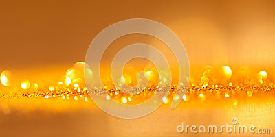 Twinkled gold background - christmas