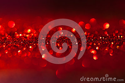 Twinkled red background - christmas