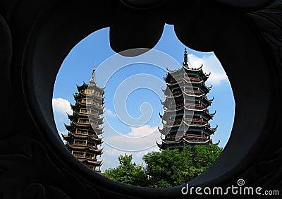 Twins Tower - Gui Lin, China