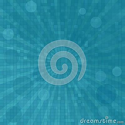 Twirl in blue tones