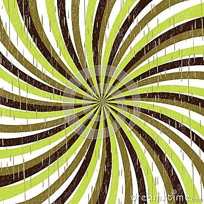 Twirl in retro colors
