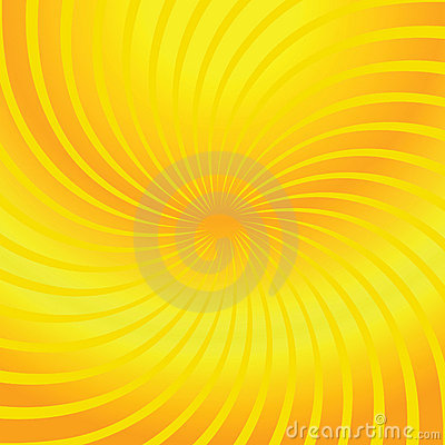Twirl yellow abstract