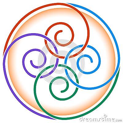 Twirls design