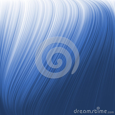 Twist background with blue flow. EPS 8