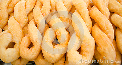 Twist You tiao  (Fried Puffy Twist )