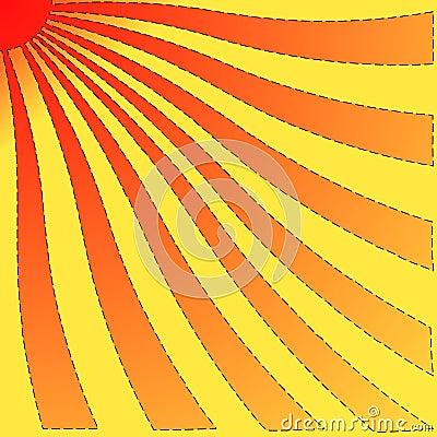 Twisted sun