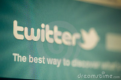 Twitter Editorial Image