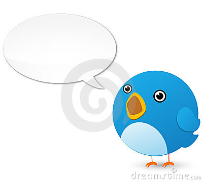 Free Twitter Bird Royalty Free Stock Images - 15828859