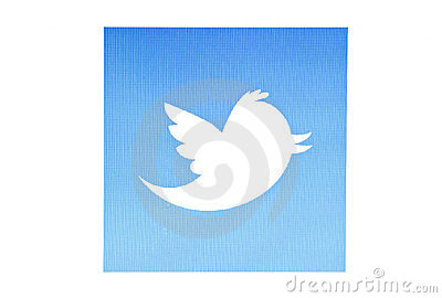 Twitter bird Editorial Photo