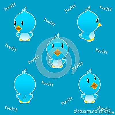 Twitter bird funny
