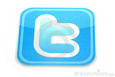 Twitter logo Editorial Photo