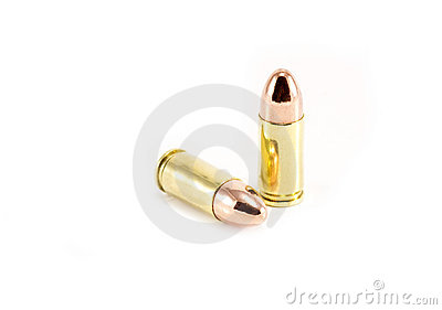 Two 9mm bullets