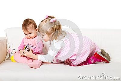 Two adorable kids