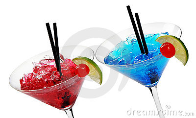 Two Alcohol Cocktails