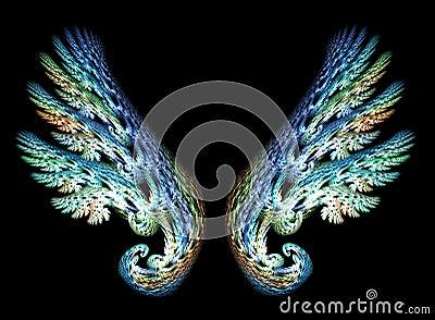 Two Angel Wings