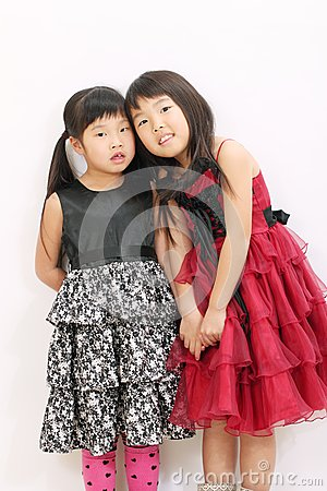 Two asian girls