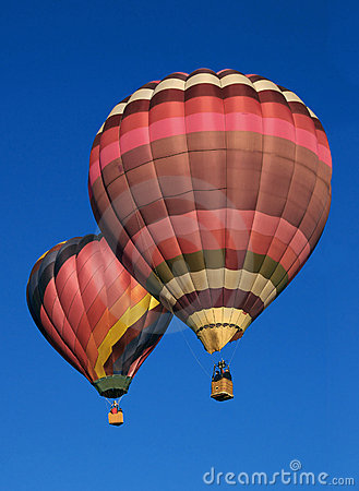 Free Two Balloons Royalty Free Stock Photography - 8144287