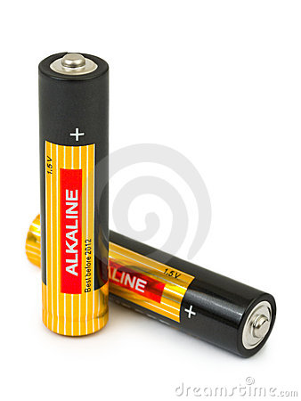 Two batteries