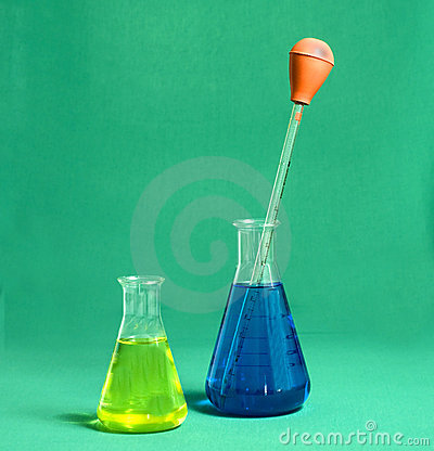Two beakers