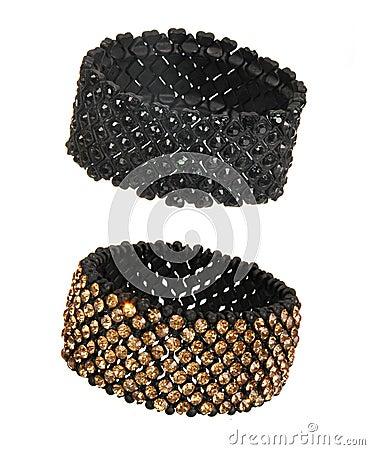 Two beautiful chrystal bracelets