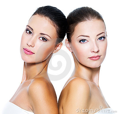 Free Two Beautiful Sexy Women Royalty Free Stock Images - 16003889