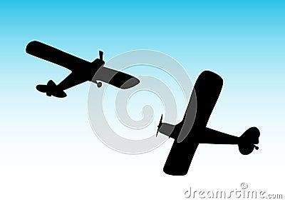 Two biplane