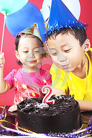 Two birthday party
