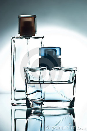Two  bottle with perfume